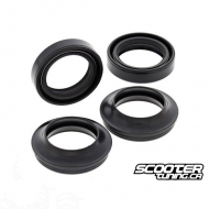 Fork Oil Seal with Dust Seal All Balls (Grom)