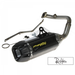 Exhaust Two Brothers Racing Tarmac Fatty GY6 125-180cc