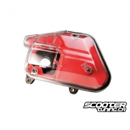 Replacement Airbox Tun'r Red / Transparent Minarelli Vertical