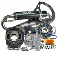 Engine Package Polini Sport 70cc & Yasuni R (Pre-Bug Zuma)