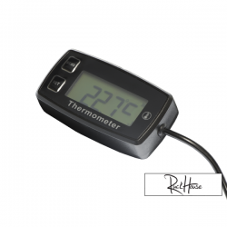 Thermometer for air cooled engine - Battery powered