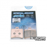 Rear Brake Pads Polini Organic (SR50)