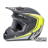 Helmet Fly Kinetic Full Speed Black/Hi-Viz