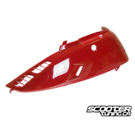 Left Side Cover Honda Elite Red