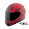 Helmet Speed and Strenght SS700 Hammer Down Matte Red
