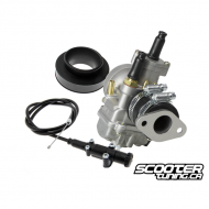 Carburetor kit Polini CP 19mm (Genuine-PGO-Kymco)