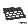 Radiator Acrylic Cover TRS Black Honda Ruckus