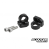 Rear Tow Ring TRS Black Honda Ruckus (Hook)