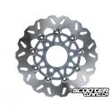 Brake Disc TWPO 220mm Silver