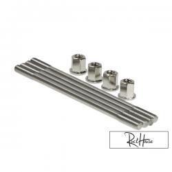 Cylinder Studs 150mm Stainless AF16-AF18