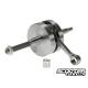 Crankshaft 2Fast Passion 100cc, 47mm Stroke, 100mm Conrod