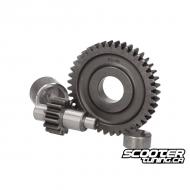 Secondary gear kit Polini 15/42 Minarelli