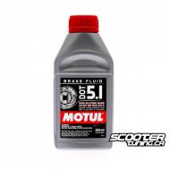 Brake Fluid Motul DOT 5.1 100% Synthetic (500ml)