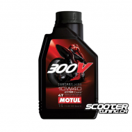 Motul 4T Oil 300V Factory Line Esther 10W40 100% Synthetic (1L)
