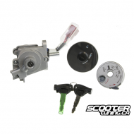 Ignition Switch with Fuel Cap (Zuma 50F 2012+)