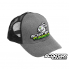 Cap Scooter Tuning Snapback Curved Type 5 (Green)