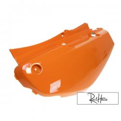 Left Side Cover Yamaha Bws/Zuma 02-11 Orange