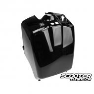 Rear Battery Box Cover Black (Honda Ruckus)
