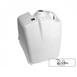 Rear Battery Box Cover White (Honda Ruckus)