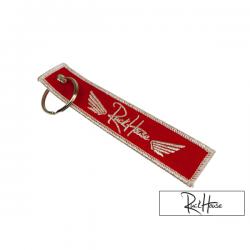 Keyring Ruckhouse Red / White