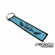 Keyring Ruckhouse Blue / Black