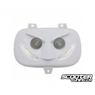 Twin headlights Replay Led White Bws'r-Zuma 88-01