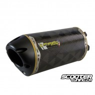 Exhaust Two Brothers Racing Carbon Shorty 10'' GY6 125-180cc