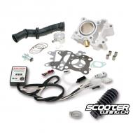 Cylinder kit Polini 70cc with Malossi CDI Bws / Zuma / C3 50F (4T)