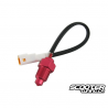 Temperature sensor Piaggio L/C White Connector