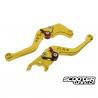 CNC Brake Lever Ruckhouse Gold Honda Grom