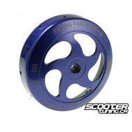 Clutch Bell R-Vent Blue 107mm