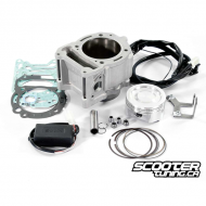 Cylinder kit Polini 294cc 77mm with CDI for Piaggio 300cc