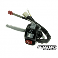 Left Handlebar Switch Complete (Bws/Zuma 2002-2011)