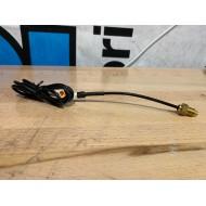 Temperature sensor L/C Minarelli - Koso WHITE PLUG with extension