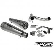 Exhaust Hotlap Dual Slip on Honda Grom