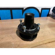 Powdercoated front hub - 4x90 - USED