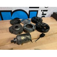 GY6 150CC CVT PARTS - CLUTCH/BELL/FRONT PULLEY X2 - STARTER MOTOR - USED