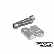 Swingarm Extension Billet Stoppers TRS Aluminium (Grom)