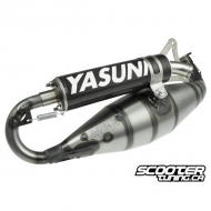 Exhaust System Yasuni C40 Carbon Minarelli Horizontal