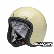 Helmet Bitwell Bonanza Vintage White