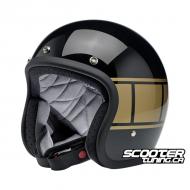 Helmet Bitwell Bonanza Gloss Black Holeshot
