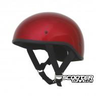 Helmet AFX FX-200 Slick Beanie-Style Candy Red