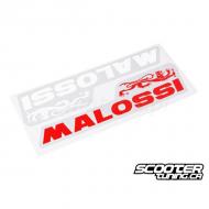 Malossi sticker 22x5,5cm
