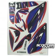 Graphic kit Yamaha Blue Zuma 50F 2012+