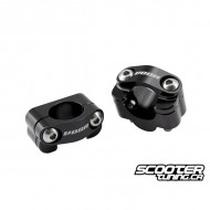 Handlebar clamp VOCA HB28 black (7/8 to 1-1/8'')