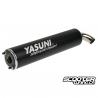 Muffler Yasuni R / C16 / C20 / C21  Alu Black