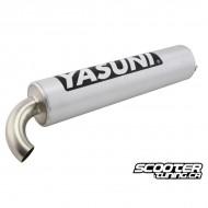 Muffler Yasuni R / C16 / C20 / C21  Alu
