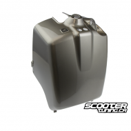 Rear Battery Box Cover Moonstone Silver (Honda Ruckus)
