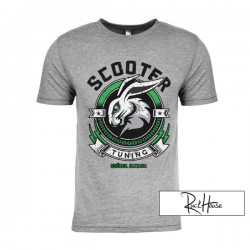 T-Shirt ScooterTuning Team Gray