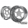 Wheel Set Ruckhouse 5-Star CNC 2-Piece Honda Grom (13x6-12x4)
